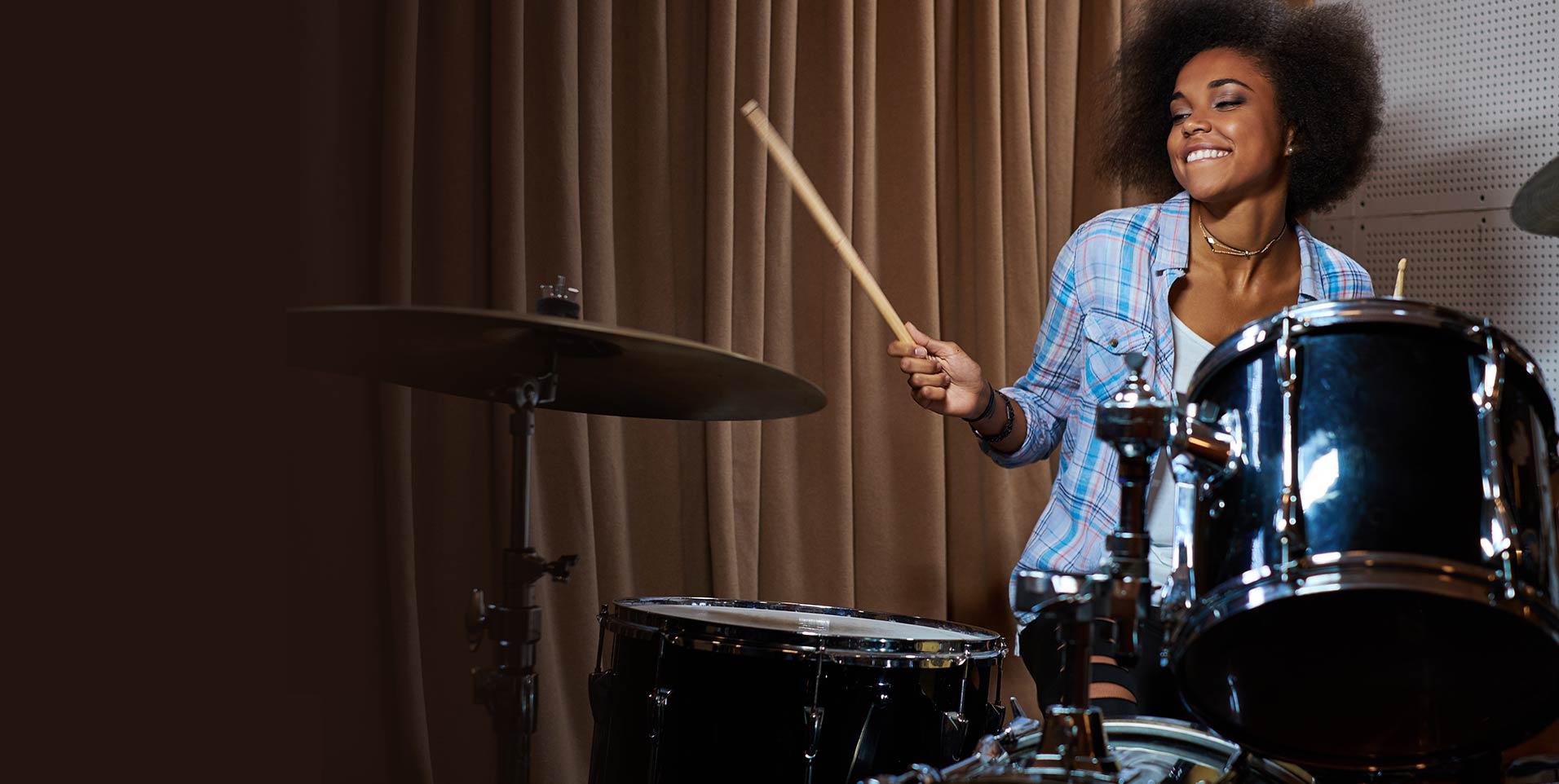 Startslider-Drums