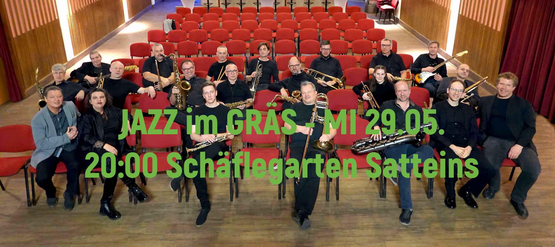 """ABSAGE Bigband Walgau """"JAZZ im GRÄS"""""""