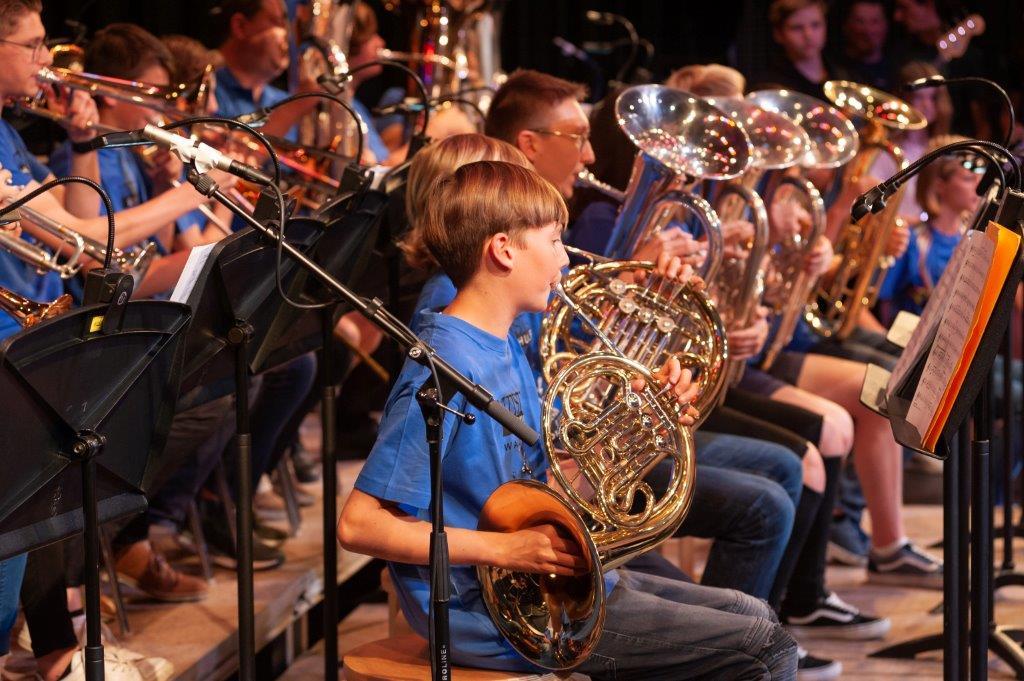 Schülerblasorchester On Tour